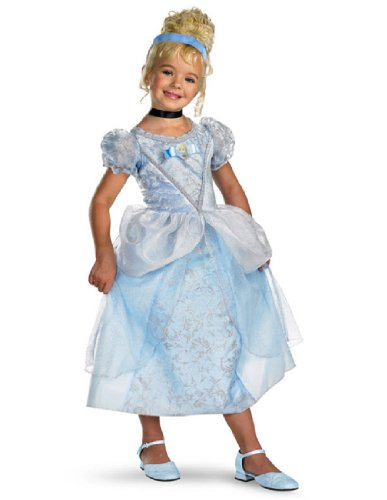 Cinderella Deluxe - Size: Child S(4-6x) (Cinderella Costume For Kids)