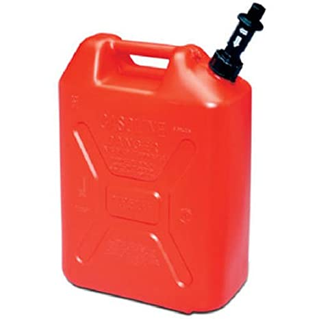 Plastic Gas Cans >> Scepter Eco Jerry Can With Child Resistant Closures 5 Gallon Military Style