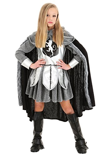 Girl's Warrior Knight Costume -