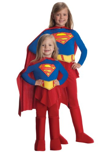 - 41zRDd4yf2L - Rubies Supergirl Child Costume