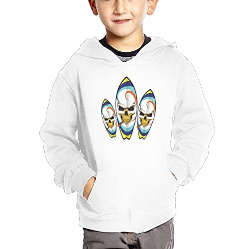 Ngng Hoodies Gold Glitter Skull Cigar Surfboard Boy Children Cotton Sweatshirts Casual Pullover Hoodies With Pocket