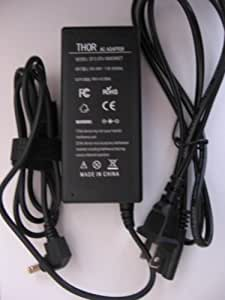 Thor Replacement Laptop Ac Power Adapter Cord for Toshiba Satellite Model C55t-a5218 C55t-a5222 C55t-a5247 C55t-a5287 C55t-a5296 C70-abt2n11 C70-abt2n12 C70-asmbnx1 C70-ast2nx1 C70-ast2nx2 C70-ast2nx3