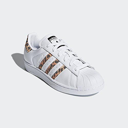 adidas Originals Women's Superstar W Sneaker, FTWR White, Supplier Colour, Core Black, 9 M US by adidas Originals (Image #6)
