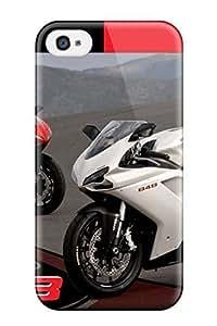 Case Cover Protector For Iphone 5C Ducati Motorcycle Case WANGJING JINDA