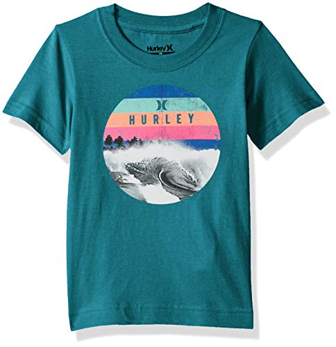 Character Graphic T-Shirt, Tropical Teal Heather Dusk 2T ()