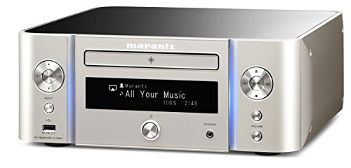 marantz DSD HiRes Bluetooth Airplay wide FM-enabled network CD receiver M-CR611 / FN Silver Gold (Japan domestic model)