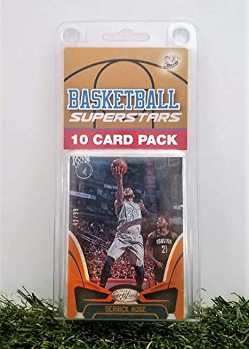 Dereck Rose- (10) Card Pack NBA Basketball Superstar Derrick Rose Starter Kit all Different cards. Comes in Custom Souvenir Case! Perfect for the Ultimate Rose Fan! by 3bros