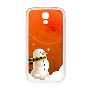 Cute Snow Man Phone For HTC One M9 Case Cover