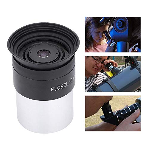 "Simlug Eyepieces Telescope Eyepiece 1.25"" Plossl 10mm Fully-Coated Eyepiece Metal Body for Astronomy Telescope"