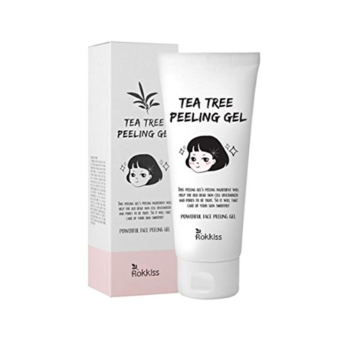 ROK-KISS tea tree peeling gel - Tea Tree extract for smooth and smooth skin condensation management