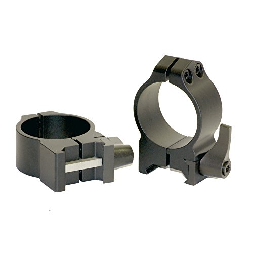 Warne Scope Mounts Warne Maxima Quick Detach Rings MFG Maxima Quick Detach Rings 30mm -