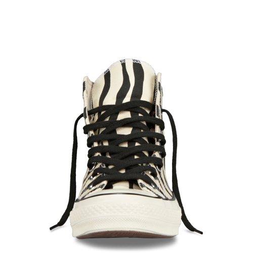 Converse Ct Chuck Taylor 1970 Premium Scarpe Da Uomo Ceche Zebra Print Natural / Black 142279c