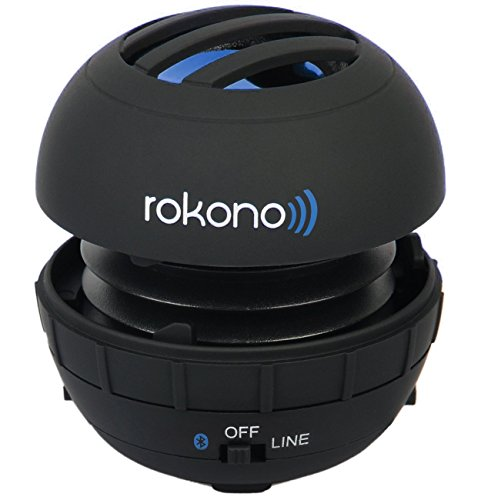 Rokono BASS+ G10 Mini Bluetooth Speaker for iPhone, iPad, iPod, MP3 Player, Laptop - Black