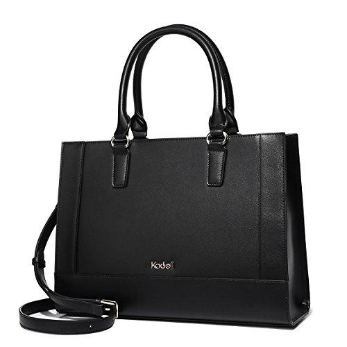 Large Top Handbags Handle Women Shoulder PU Black Tote Satchel Fashion Messenger Kadell Leather Bags Bt85w5q