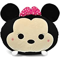 Disney Tsum 19 Minnie Mouse Round Bean Bag, Black
