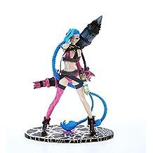 LOL League of Legends Jinx Crazy Lolita Figure Model 9.5 Inch