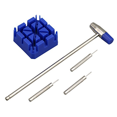 KMBT17003-B 5pcs Watch Band Link Pin Tool Set KMDECYY TM