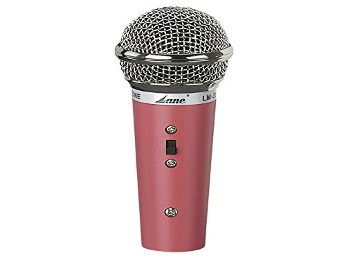 Snail Shop Lane Mini Dynamic Microphone Lm-33 Colorful Karaoke Microphone for Child(pink)