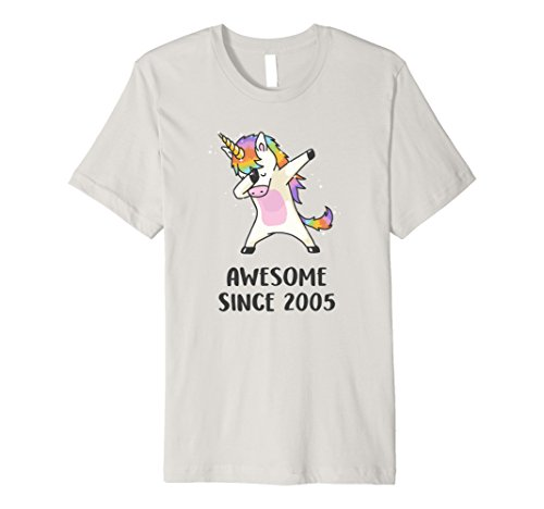 PREMIUM Unicorn Shirt Awesome Since 2005 13th Birthday Girls