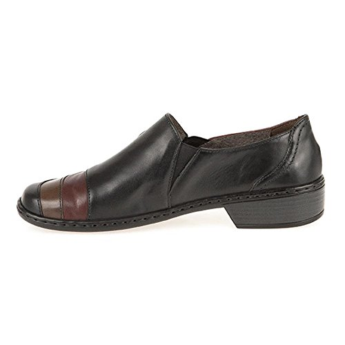 Slip 308 Shoe On Black Leather ara 646 gqxnTpqw