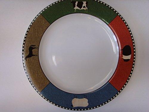 (Barnyard Animals Sakura Dinner Plate 10.5