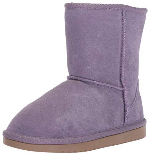 Koolaburra by UGG Girls' K KOOLA Short Fashion Boot, Montana Grape, 02 Medium US Little Kid (Ugg Short Boots Purple)