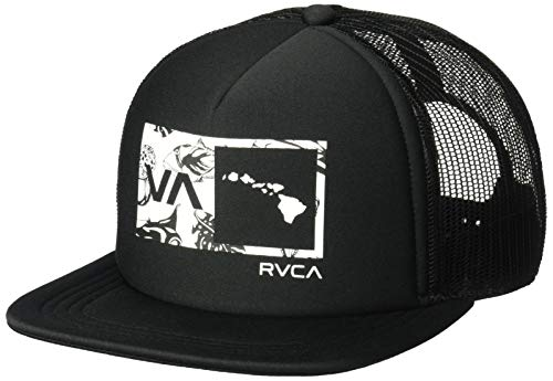 858a3954a4d RVCA Men s Islands Balance Box Trucker HAT