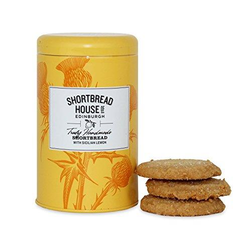 Shortbread House of Edinburgh's Lemon Biscuit Tin 140g