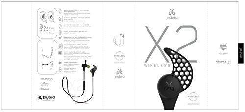 Jaybird X2 Sport Wireless Bluetooth Headphones - Midnight Black by Jaybird (Image #13)