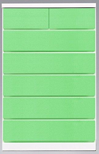 アルファタカバ 日本製 チェスト フリージア (PY, 100cm幅 4段) B07872V4ZL 100cm幅 4段 PY PY 100cm幅 4段