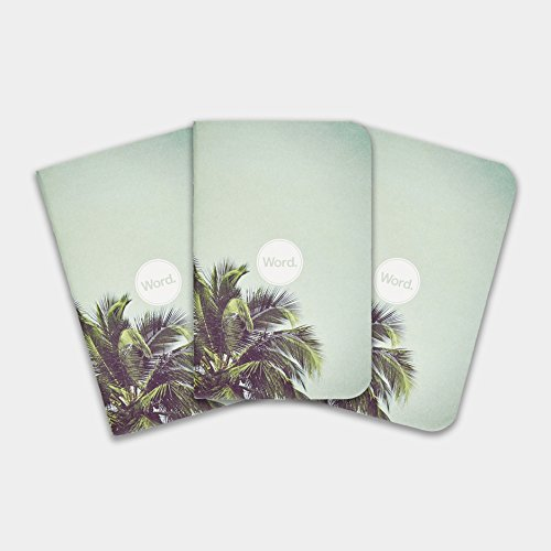 Word. Notebooks - Limited Edition Pocket Notebooks (Palm)