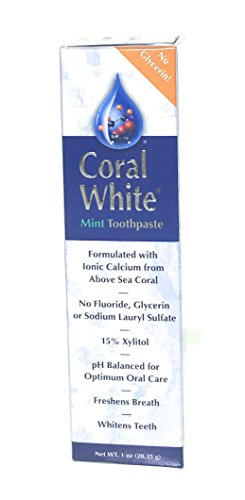 CORAL LLC Coral White Tthpst Mint Travel, 0.02 (Coral White Toothpaste)
