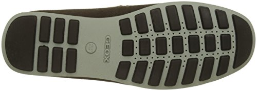 Geox Men's U Mirvin a Moccasins, Navy Brown (Chocolate C6005)