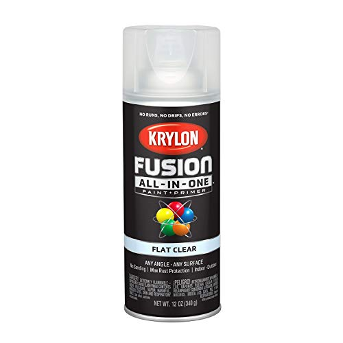 Krylon K02729007 Fusion All-in-One Spray Paint, Clear