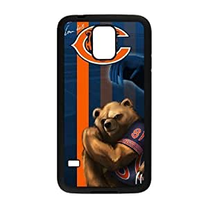 Beautiful-Diy Samsung Galaxy s5 Black cell phone case cover Chicago Bears NFL cell phone kVObCubv1UH case cover Design Personalized