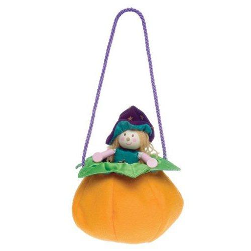 Pochette Doll Winnie the Witch with Pumpkin Bag
