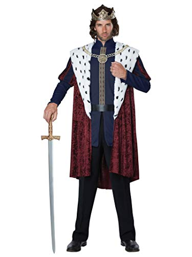 Wrath Of The Lich King Halloween Costumes - California Costumes Men's Royal Storybook King