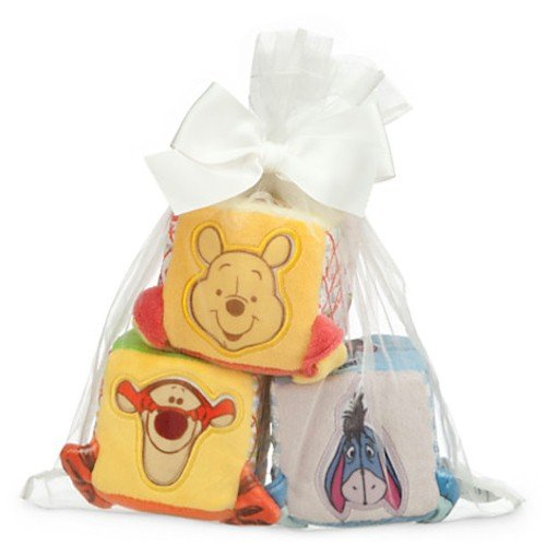 Disney Winnie the Pooh and Pals Soft Blocks for Baby Delight Quilted Bag