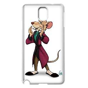 The Great Mouse Detective Character Basil Samsung Galaxy Note 3 Cell Phone Case White Cjndf