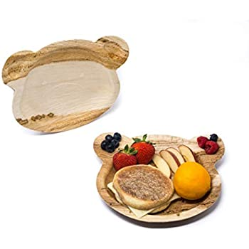 Amazon.com: CaterEco Palm Leaf Plates Set (Pack of 20 ...