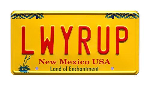Celebrity Machines Breaking Bad   LWYRUP   Metal Stamped License Plate