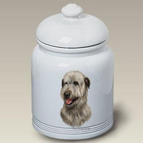 Irish Wolfhound - Tamara Burnett Treat Jars (Hound Treat Jar)