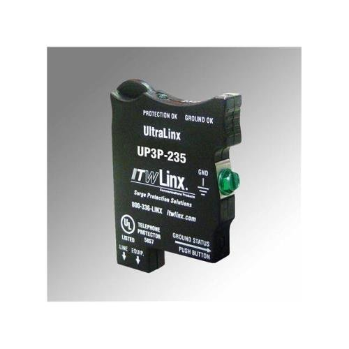 ITW Linx ITW-UP3P-235 UltraLinx 66 Block/235V Clamp/160mA PTC ()