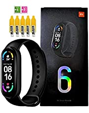 smartwatch Xiaomi Mi Band 6 Original Global + 5 Peliculas de Brinde - Loja LXF