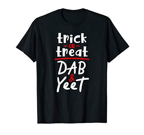 Halloween Pun Meme (Trick Or Treat Dab & Yeet - Fun Halloween Costume Party Meme)