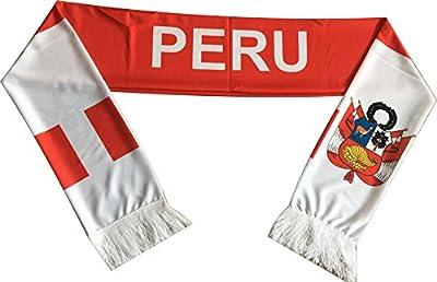 Official Peru Flag Scarf - La Rojiblanca