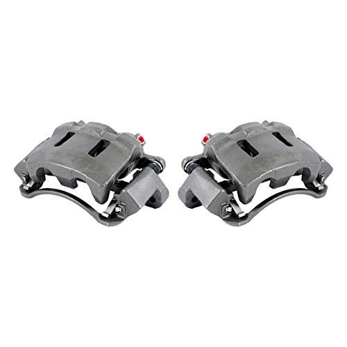 (CKOE00974 [ 2 ] FRONT [ 2WD 4WD ] Premium Grade OE Semi-Loaded Caliper Assembly Pair Set)