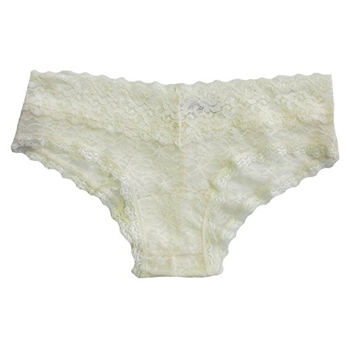Undie Couture Lace Hipster Panties (M/L, Ivory)