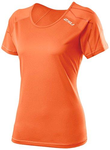 Sunset Femme Orange nbsp;x U Ghost sunset Manches 2 Orange T À shirt Courtes wzSawqx