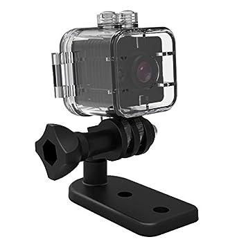 TOOGOO SQ12 Mini camara resistente al agua HD 1080P DVR Lente Camaras de video deportivas Gran